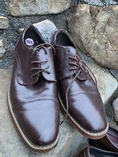 Van Heusen Gable Oxfords Size 10.5M Brown Boho Retro Casual Dress ECU