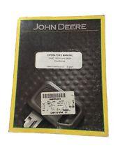 John Deere 940095009600 Combines Operator Manual Omh161694