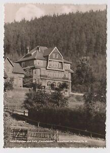 AK - HOTEL-PENSION U. CAFE CONRADSHÖH - MANEBACH IM ILMTAL TH.W. - GELAUFEN