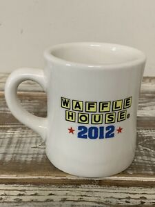 Waffle House 2012 America The Beautiful Collectible Diner Coffee Mug Cup Tuxton