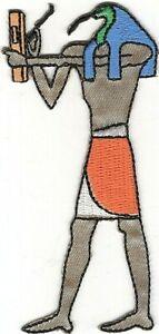 Égyptien Mythologie Dieu De Langues Jeux Thoth Brodé à Repasser à Coudre Patch