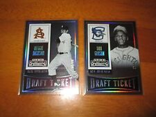 BOB GIBSON 2015 Panini Contenders DRAFT TICKET #53/99 Rookie Card Cardinals