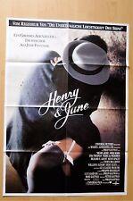 P514- Kinoplakat - HENRY & JUNE Fred Ward / Uma Thurman