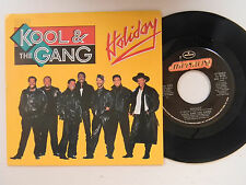 Kool And The Gang ps 45 HOLIDAY bw HOLIDAY (JAM MIX) Mercury VG++