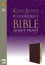 King James Version Reference Bible, Giant Print: By Zondervan