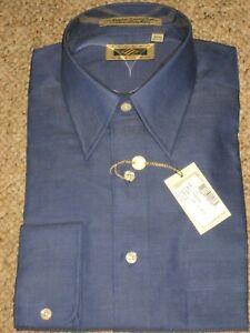 New Mens Joseph Abboud 15.5 32/33 long sleeve button down up dress shirt 15 1/2