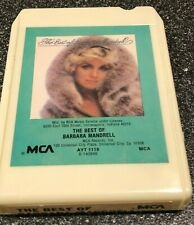 The Best of Barbara Mandrell 8-Track Tape Vintage