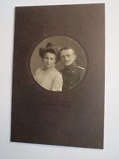 Dresden - Paar - Soldat in Uniform & Frau im Kleid - Portrait / KAB