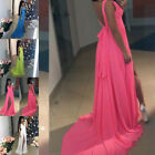 Womens Long Evening Dress Party Ball Prom Gown Formal Bridesmaid Cocktail Dress