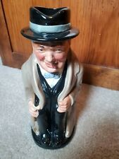 Royal Doulton Winston Churchill Toby Pitcher Made in England #50