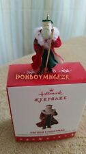Hallmark 2016 Father Christmas MINIATURE Santa Claus Christmas Ornament