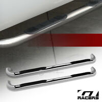 "For 2001-2003 Ford F150 Super Crew Cab 3"" Side Step Nerf Bars Boards Hd Chrome"