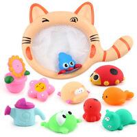 Popular Cat Shaped Fishing Net Kids Baby Toddlers Swimming Pool Bath Tub Toys