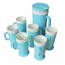 Mid Century PItcher and Tumblers (MR14711)  SALE