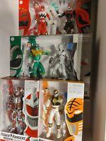 Power Rangers Lightning Collection Lot. Green ranger Lord Zedd Psycho red white