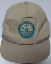 Vtg 1990s HURLEY & ASSOCIATES AGRI MARKETING CENTERS FARM AG ADVERTISING HAT CAP
