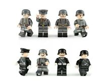 German Army Minifigures Wehrmacht Officers Mini-figures Army Soldiers Germany