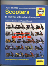 Haynes Scooter Manual Aprilia Gilera Malaguti MBK Peugeot Piaggio Sym Vespa CL29