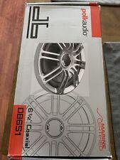 New listing Polk Audio Db651 6.5 inch Coaxial Speakers - Silver/Black