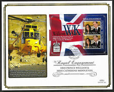 Gambia 2011 Large FDC Engagement of William & Catherine Ltd Ed 54/250