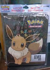 Pokemon Eevee 9 pocket Page Portfolio Album Binder Holder Card Protection