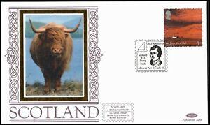 2003 Scotland British Journey NVI Self Adhesive Booklet FDC Benham BSSp104