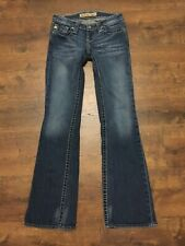 Women's BIG STAR Casey K Low Rise Fit Blue Jeans, Size 25R, GREAT CONDITION!