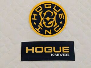 HOGUE INC KNIVES KNIFE Sticker Decal 2020 SHOT SHOW (Lot of 2)