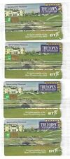 Phonecard 278, St Andrews golf full set sealed, The £5 card is number 1.