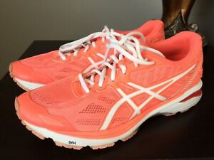Asics GT-1000 5 Womens Athletic Running Training Shoes Size 9 Pink White
