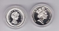 1992 Lady Diana Queen Elizabeth Silver Proof $25 Coin ex Masterpieces in Set
