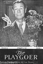 "Joe E. Brown ""HARVEY"" Mary Chase / Pulitzer Prize 1947 Detroit Playbill"