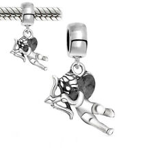 Abalorio-Angel-con-arco/Plata-925/Silver Beads/Charms/Pulseras-Europeas-nº025