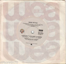 ROSE ROYCE Love Don't Live Here Anymore / That's What's Wrong With Me 45