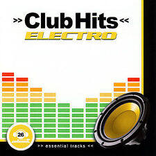 FREE US SHIP. on ANY 3+ CDs! NEW CD Various: Club Hits Electro Import