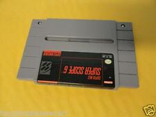 SNES Game Super Scope 6 for the Super Nintendo System