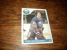 1985-86 Topps #105 Tom Barrasso Buffalo Sabres Nice Condition 2nd Yr card