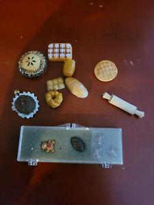 Lot of Misc Dollhouse Miniature Food