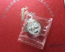 2015 3RD Panda coin Collection Expo Platinum 1/10oz Seal,Mintage:99
