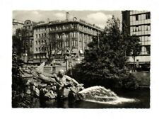 Germany - Dusseldorf, Tritongruppe - Real Photo Postcard Franked 1958
