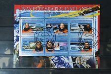 Space 16 Space Universe Cosmos Cosmos Mission sts-122 Guinee 2008 Stamped
