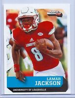 """LAMAR JACKSON 2016 SI """"1 OF 9"""" 1ST EVER PRINTED COLLEGE ROOKIE CARD! LOUISVILLE!"""