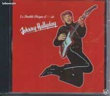CD Johnny HALLYDAY Le Double Disque d'Or 24 titres NEUF Cello