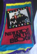 Original Vintage New Kids On The Block Beach Towel NKOTB 1990 Near Mint