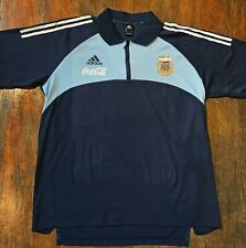 Argentina Adidas shirt 2002 World cup training. Prepared to players. Batistuta.
