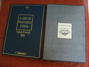 Il Libro dei Francobolli d'Italia - Valori Postali Anno 2001 BUCA DELLE LETTERE