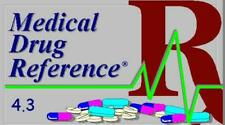 Medical Drug Reference 4.3 PC CD tool prescription information effects pictures+