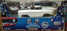 1/18 Muscle Machine Build-It Kit 1959 EL CAMINO In WHITE 2-car Set NEW IN BOX