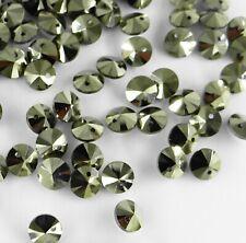6428 6 LG *** 15 perles cristal Swarovski mini breloque 6mm crystal LIGHT GOLD