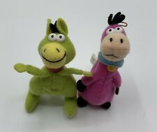 1989 Hanna-Barbera The Flinstones Dino And Hoppy Mini Plush